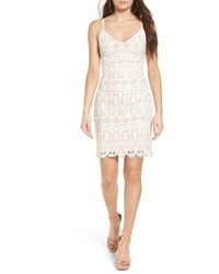 White Lace Cami Dress