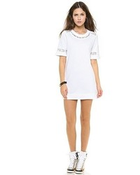 Lace sweatshirt dress medium 49124