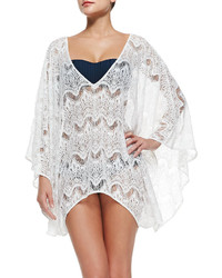 Violet sheer lace arched coverup medium 209069