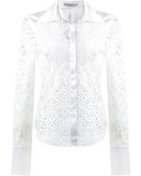 Martha medeiros lace patchwork shirt medium 716377