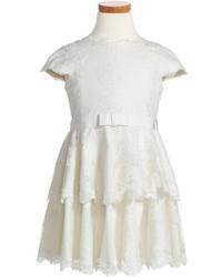 Tadashi Shoji Tiered Lace Dress