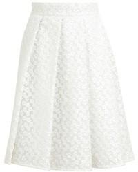 White Lace Full Skirt