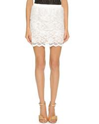 Loydford Lace Miniskirt