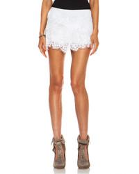 Isabel Marant Molly Nylon Skirt In White