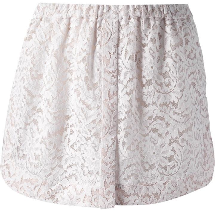 No.21 No 21 Floral Lace Skirt