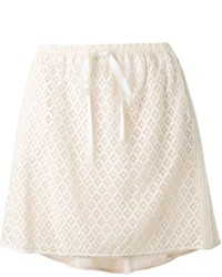 See by Chloe See By Chlo Macrame Lace Skirt