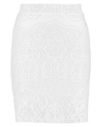 Taiga pencil skirt white medium 3905431