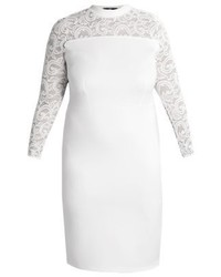 Shift dress white medium 3847499
