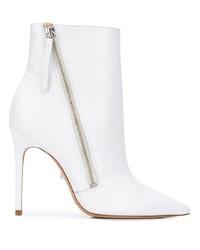 Schutz Asymmetric Zip Ankle Boots