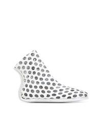 Marsèll Polka Dot Sock Boots