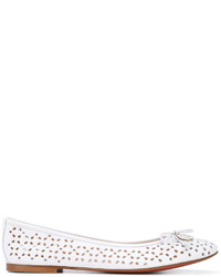 Baldinini Perforated Ballerina Shoes