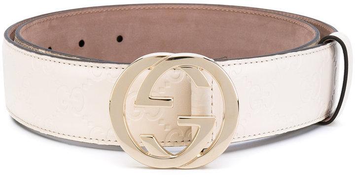 acf529fe6 Gucci Gg Buckle Belt, £311   farfetch.com   Lookastic UK