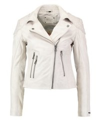 Ibiza leather jacket off white medium 3993116