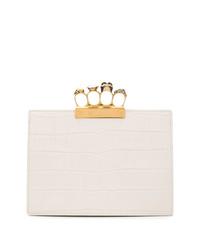 Alexander McQueen Embellished Ring Clutch Bag