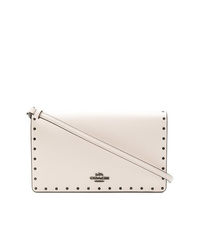 Coach Foldover Logo Clutch Bag