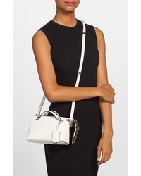 cba2f3b44b Fendi Mini By The Way Embellished Croc Tail Leather Crossbody Bag ...