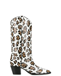 Paris Texas Cowboy Styled Boots