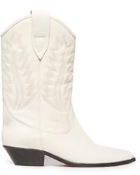 Etoile Isabel Marant Isabel Marant Toile Dallin Leather Western Boots