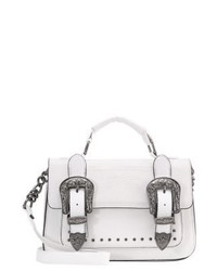 River Island Across Body Bag White