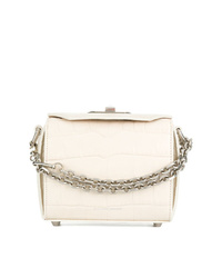 Alexander McQueen Box Crocodile Embossed Bag