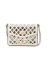 Gucci Medium Cutout Leather Shoulder Bag