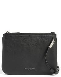 4349e196e9e Marc Jacobs Pike Place Double Percy Leather Crossbody Bag, £196 ...