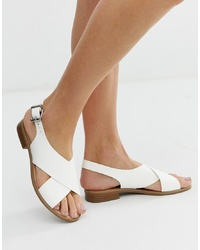 Faith Josh White Cross Over Sandals