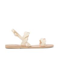 Ancient Greek Sandals Plexi Leather Sandals