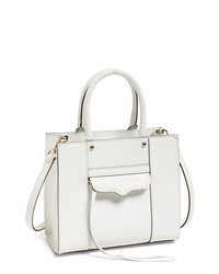 Rebecca Minkoff Mab Mini Leather Tote White