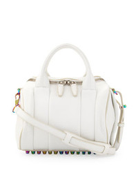 Alexander Wang Rockie Small Crossbody Satchel White