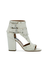 Laurence Dacade White Star Stud Rush 90 Sandals
