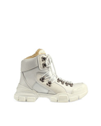 Gucci Flashtrek High Top Sneaker With Wool