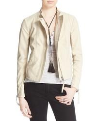 Faux leather jacket medium 963831