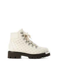 Baldinini Quilted Studded Ankle Boots