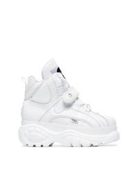 Buffalo White 1348 Platform Sneaker Boots