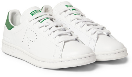the latest 5c6fa ff385 ... Raf Simons Adidas Stan Smith Leather Sneakers ...