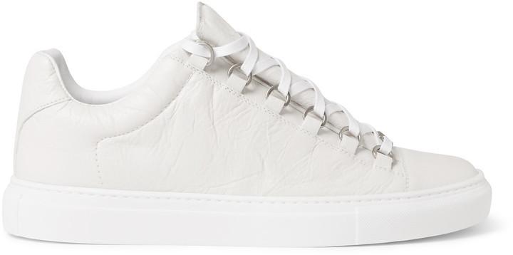 e67c22e46abf ... Balenciaga Arena Creased Leather Sneakers ...