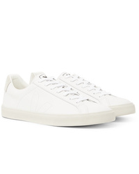 Veja Esplar Suede Trimmed Leather Sneakers