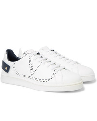 Valentino Garavani Net Perforated Leather Sneakers