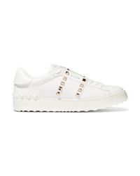 Valentino Garavani Rockstud Untitled Leather Sneakers