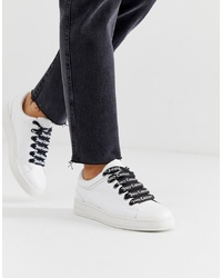 Juicy Couture Leather Lace Up Trainers