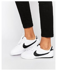Nike Leather White Cortez Trainers