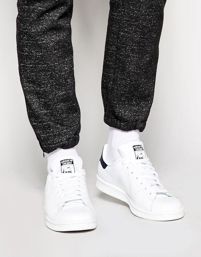 big sale 81fa0 500e8 £64, adidas Originals Stan Smith Leather Sneakers M20325