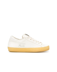 Philippe Model Paris Lace Up Leather Trainers