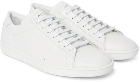 f048e8b9233a ... Saint Laurent Sl01 Court Classic Leather Sneakers ...