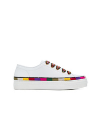 Etro Stripe Detail Lace Up Sneakers