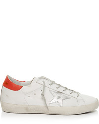 Golden Goose Deluxe Brand Super Star Low Top Leather Trainers