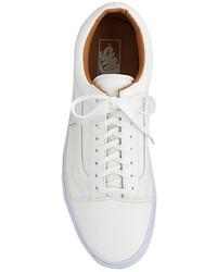 ... Vans Unisex Old Skool Leather Sneakers ... 42cb55fa80