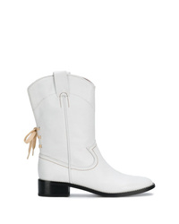 See by Chloe See By Chlo Cowboy Inspired Mid Calf Boots