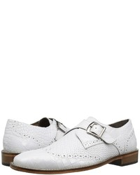 White Leather Monks